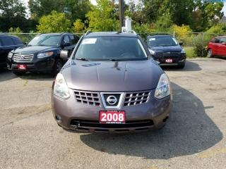 Used 2008 Nissan Rogue SL 1 OWNER CLEAN CARPROOF ALL-WHEEL-DRIVE for sale in Brampton, ON