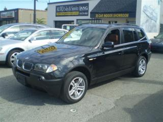 Used 2005 BMW X3 3.0i PREMIUM! PANO ROOF! LOADED! for sale in Etobicoke, ON