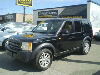 Used 2007 Land Rover LR3 SE 7 PASSENGER! NAV! DVD! for sale in Etobicoke, ON