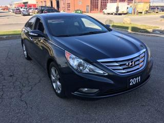 Used 2011 Hyundai Sonata Limited w/Nav for sale in North York, ON