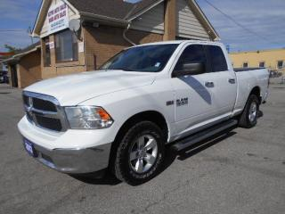 Used 2013 Dodge Ram 1500 SLT 4X4 Quad Cab 5.7L HEMI Certified 212Km for sale in Etobicoke, ON