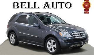 Used 2011 Mercedes-Benz ML-Class NAVIGATION DVD PLAYER BACKUP CAM POWER LIFT GATE for sale in North York, ON