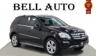 Used 2011 Mercedes-Benz ML-Class NAVIGATION BACKUP CAM AND SENSORS POWER LIFT GATE for sale in North York, ON