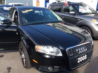 Used 2008 Audi A4 QUATTRO S LINE for sale in Etobicoke, ON