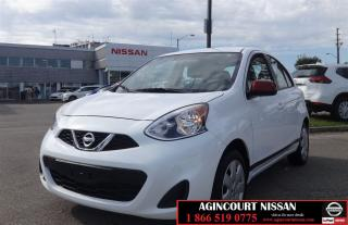 Used 2015 Nissan Micra SV  Bluetooth Cruise A/C  No Accidents  for sale in Scarborough, ON