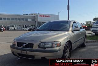 Used 2004 Volvo S60 2.5T A SR |AS-IS SUPER SAVER| for sale in Scarborough, ON