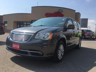 Used 2016 Chrysler Town & Country TOURING 2 DVD PWR ROOF NAVI PWR DOORS R-MOTE START for sale in Scarborough, ON