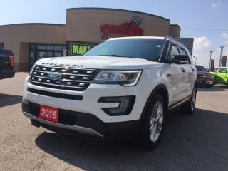 Used 2016 Ford Explorer XLT P-ROOF LEATHER REAR CAM 20 WHEELS 7 PASS for sale in Scarborough, ON