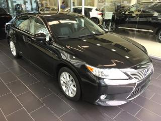 Used 2014 Lexus ES 300 h Local Vehicle, Heated/Cooled seats, Navigation, Remote Starter for sale in Edmonton, AB