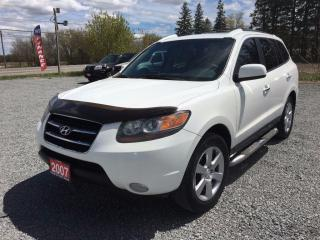 Used 2007 Hyundai Santa Fe GLS LEATHER SUNROOF AWD LOADED for sale in Gormley, ON