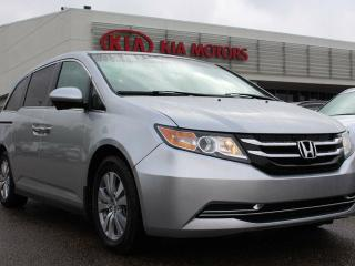 Used 2015 Honda Odyssey EX, HEATED SEATS, BACKUP CAM, DVD PLAYER, POWER DOORS, REAR CLIMATE CONTROL, USB/AUX for sale in Edmonton, AB