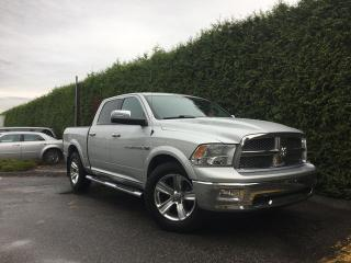 Used 2011 Dodge Ram 1500 Laramie 4x4 + NAV + SUNROOF + DVD + BACK-UP CAM for sale in Surrey, BC