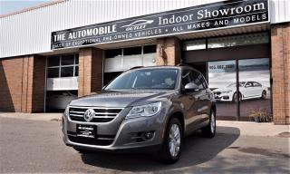 Used 2010 Volkswagen Tiguan NAVI BACK-UP CAMERA PANO ROOF NO ACCIDENT for sale in Mississauga, ON