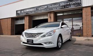 Used 2013 Hyundai Sonata Limited Edition NAVI BACK-UP CAMERA for sale in Mississauga, ON