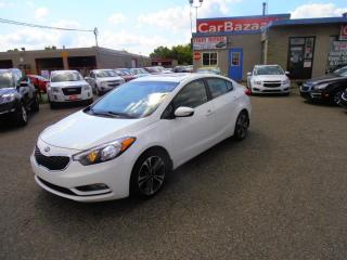 Used 2014 Kia Forte SX LTHR ROOF NAV CAMERA for sale in Brampton, ON