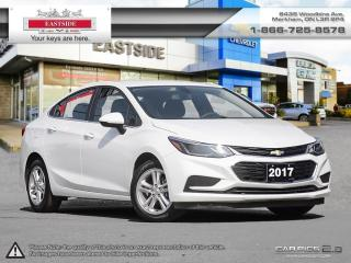 Used 2017 Chevrolet Cruze INTEREST RATE AS LOW AS 0.9% for sale in Markham, ON
