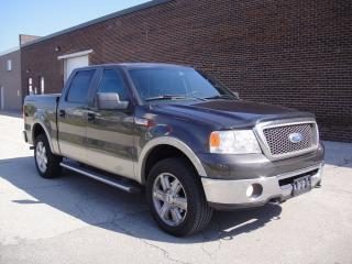 Used 2007 Ford F-150 LARIAT SUPERCREW 4X4-LOADED,LEATHER,NO ACCIDENTS for sale in North York, ON