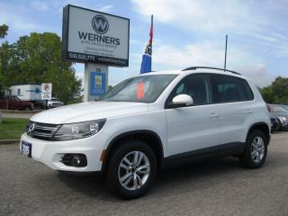 Used 2015 Volkswagen Tiguan Trendline for sale in Cambridge, ON