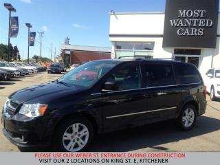 Used 2014 Dodge Grand Caravan Crew | LEATHER | CAMERA | P/TAILGATE for sale in Kitchener, ON