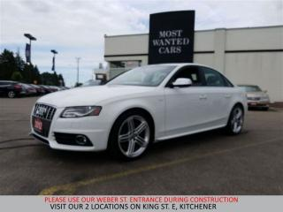 Used 2012 Audi S4 3.0 Premium AWD | NAVIGATION | NO ACCIDENTS for sale in Kitchener, ON