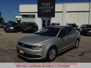 Used 2013 Volkswagen Jetta Trendline + | CRUISE | HEATED SEATS for sale in Kitchener, ON