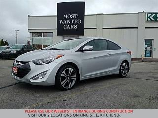 Used 2013 Hyundai Elantra Coupe GLS | NAVIGATION | LEATHER for sale in Kitchener, ON