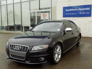 Used 2012 Audi S4 3.0 quattro Premium for sale in Edmonton, AB