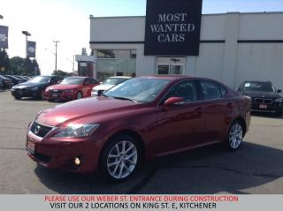Used 2012 Lexus IS 250 V6 AWD | PADDLE SHIFTERS | XENON HEADLIGHTS for sale in Kitchener, ON
