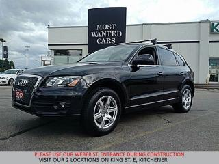 Used 2012 Audi Q5 2.0T Premium | PANORAMIC SUNROOF | MOCHA LEATHER for sale in Kitchener, ON