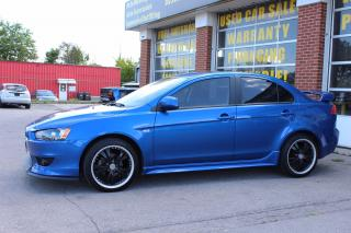Used 2009 Mitsubishi Lancer Sportback GT,ONE owner, LOWEST km,2 SETS OF TIRES for sale in Oakville, ON