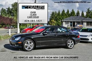 Used 2005 Mercedes-Benz C230 Sport Kompressor, Loaded, Alloys, Supercharged! for sale in Surrey, BC