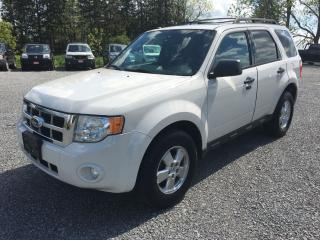 Used 2011 Ford Escape XLT LEATHER SUNROOF AWD LOADED for sale in Gormley, ON