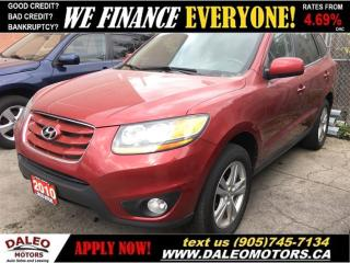 Used 2010 Hyundai Santa Fe GL | PANO ROOF | HEATED SEATS for sale in Hamilton, ON