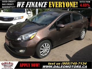Used 2012 Kia Rio LX (A6) | LOW, LOW PAYMENTS! for sale in Hamilton, ON