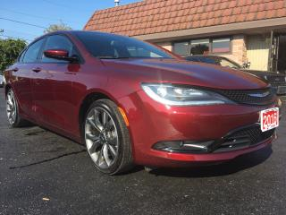 Used 2016 Chrysler 200 S for sale in Cobourg, ON