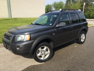 Used 2004 Land Rover Freelander SE,AUTO,AIR,POWER GROUP for sale in Mississauga, ON
