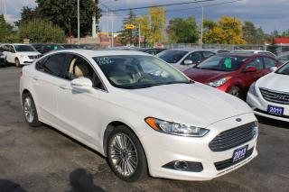 Used 2013 Ford Fusion SE Leather Sunroof Navi for sale in Brampton, ON