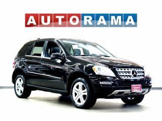Used 2011 Mercedes-Benz ML 350 BLUE TECH NAV BACKUP CAM LEATEHR SUNROOF 4WD for sale in North York, ON