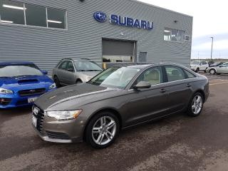 Used 2013 Audi A6 2.0T Premium for sale in Dieppe, NB