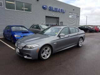Used 2012 BMW 5 Series 550i xDrive for sale in Dieppe, NB