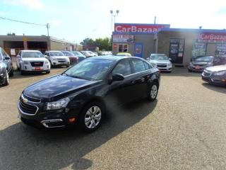 Used 2016 Chevrolet Cruze LIMITED SUNROOF CAMERA for sale in Brampton, ON