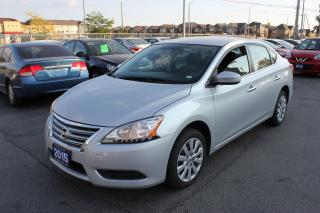 Used 2015 Nissan Sentra S BLUETOOTH for sale in Brampton, ON