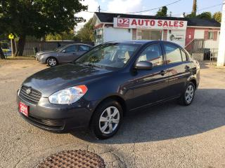 Used 2011 Hyundai Accent Automatic/Pwr Group/Clean Carproof/Certified for sale in Scarborough, ON