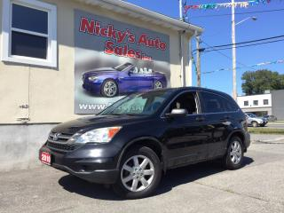 Used 2010 Honda CR-V LX - 4WD - REMOTE STARTER - ALLOY WHEELS - LOADED! for sale in Gloucester, ON