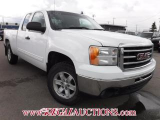 Used 2013 GMC SIERRA 1500 SLE EXT CAB SWB 4WD for sale in Calgary, AB