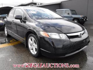 Used 2008 Honda Civic LX 4D Sedan for sale in Calgary, AB