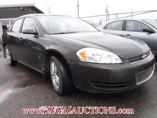 Used 2008 Chevrolet IMPALA LS 4D SEDAN for sale in Calgary, AB