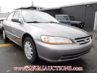 Used 2001 Honda Accord 4D Sedan for sale in Calgary, AB