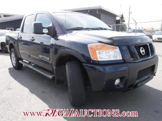 Used 2009 Nissan TITAN PRO-4X CREW CAB 4WD for sale in Calgary, AB
