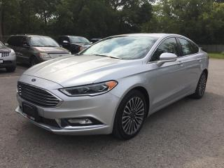 Used 2017 Ford FUSION SE W/ECOBOOST * AWD * LEATHER * NAV * REAR CAM * SUNROOF * BLUETOOTH for sale in London, ON